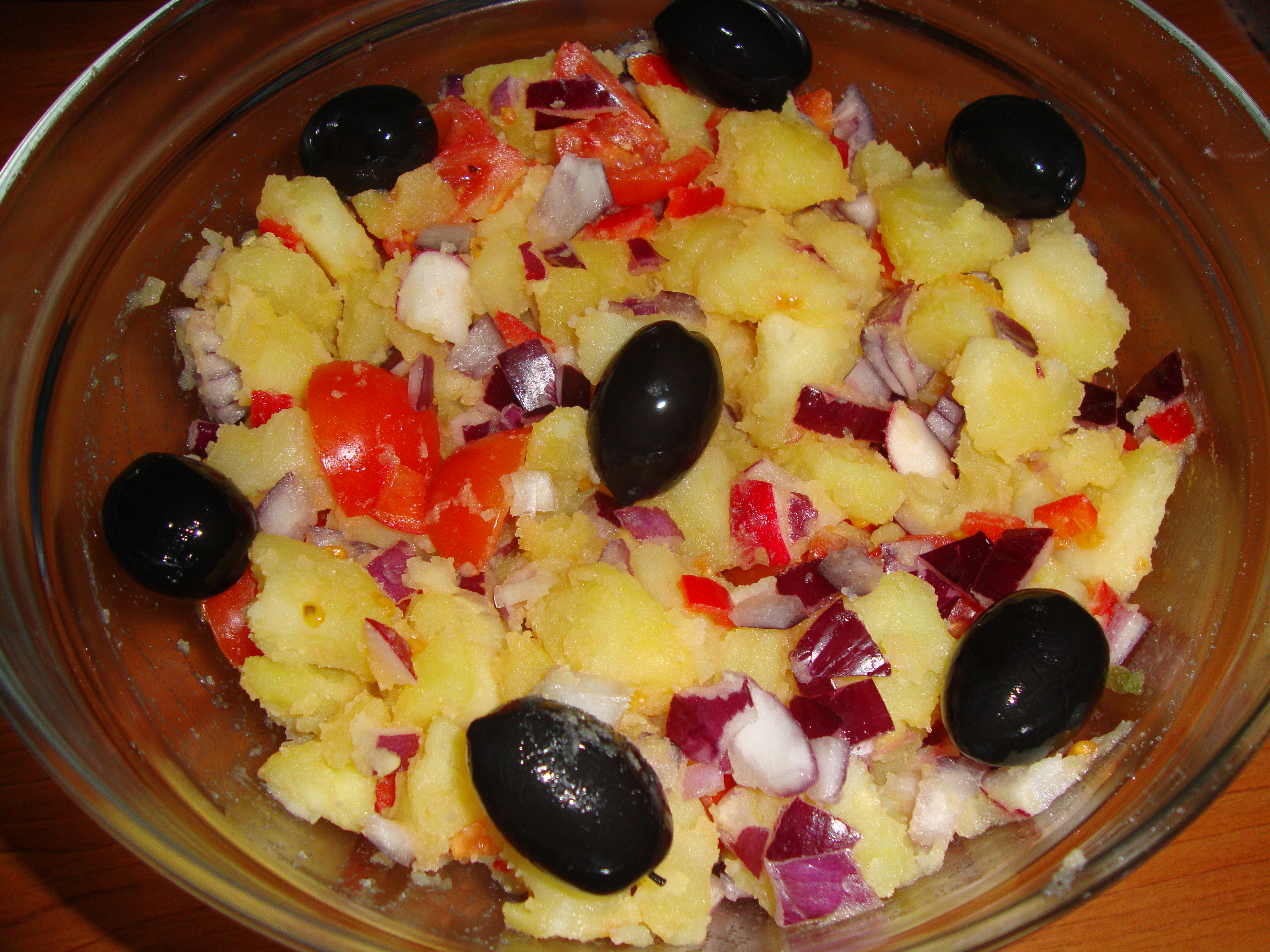 Salata de post orientala